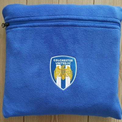 Fleece Blanket with Pouch