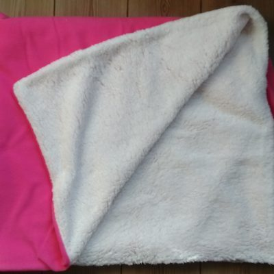 Furry + Fleece Blanket